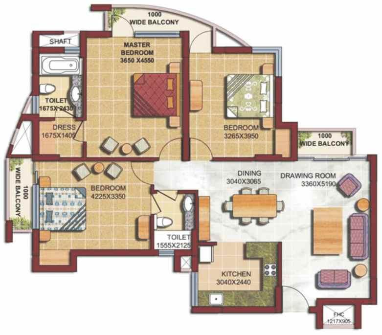 A space that's home to glorious existence Floor Plans GREATER NOIDA A
