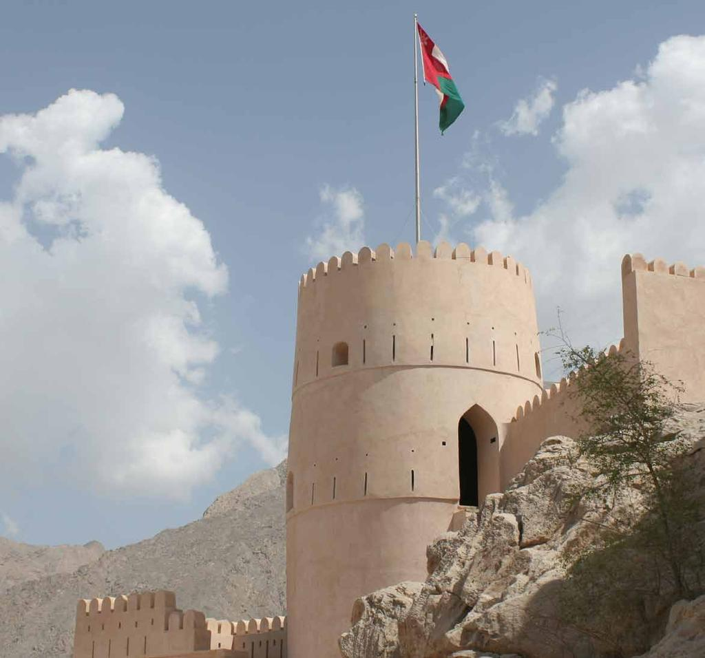 Inspiring Oman Constantly surprising and always inspiring, the rugged yet beautiful Sultanate of Oman is a land of wonder and mystery to many.