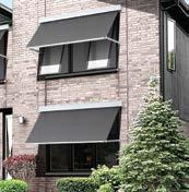 In addition, the Luxaflex Evo Awning Range has a unique bottom rail that offers consumers added functionality such as: Improved