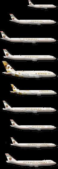 ETIHAD AIRWAYS FIRST A380 AND B787 AIRCRAFT HAVE ARRIVED Etihad Airways unveiled its first Airbus A380 and Boeing 787 aircraft during a spectacular launch event attended by leading local dignatories