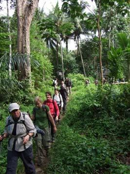 BORNEO Kalimantan Jungle Trek This is an Open Challenge itinerary; you can take part on the dates shown and raise money for a charity of your choice.