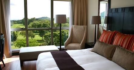 Situated at the foothills of Mount Meru in the city of Arusha, the Mount Meru hotel lies on 15 acres of lush landscapes.