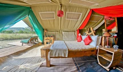DAY TWO: Asanja Serengeti Tented Camp After breakfast depart for Arusha airport to