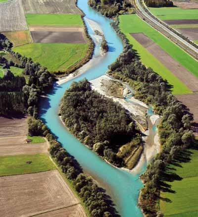 02 Drava River pilot area, Austria Size: 247 km 2 On-going implementation and evaluation of measures Our lifeline Drava - River section length: 80 km shared resources and common values.