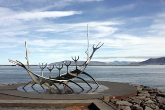 Two short walks of under 1½ miles/2km. We return to Reykjavik for our final evening.