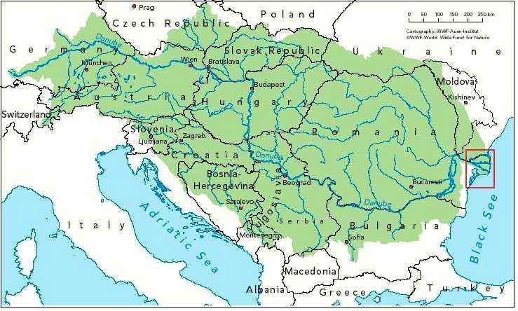 I - Water management in Romania 97.