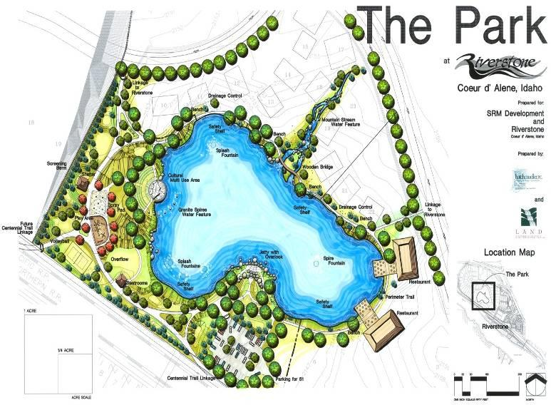 Riverstone Park Park Type: Location: Community Park Near Centennial Trial Size: 5.