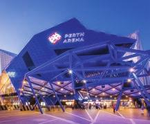 EXISTING PIECES PERTH ARENA Completed: 2012 Asset: Entertainment venue Capacity: up to 15,000 pax Investment: $550 million (public) Perth Arena is the state s landmark home of live entertainment,