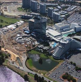 PERTH STADIUM PRECINCT Completed: by 2018 Asset: International sport and entertainment venue Capacity: up to 70,000 pax Investment: $1 billion plus (public) The Perth Stadium will significantly