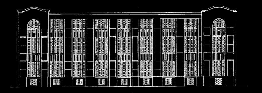 31, Branimirova ulica 43) Drawing of facade from Branimirova and Erdödyjeva Street, Hönigsberg and Deutsch, 1910 (HR DAZG 1122 /State Archives in Zagreb/, Collection of construction documents, No.