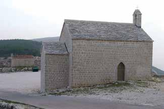 , fototeka KOR) Chapel of St. Anthony in Lubenice, condition following restoration (photo: D.