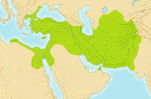 The Rise of the Persian Empire In 539 B.C. Cyrus s armies swept into Mesopotamia and captured Babylon. Then they took over northern Mesopotamia, Asia Minor, Syria, Canaan, and the Phoenician cities.