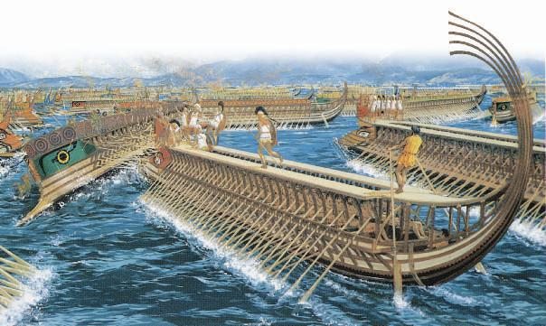 To ready their fleet for battle, the Greeks needed to stall the Persian army before it reached Athens. The Greeks decided the best place to block the Persians was at Thermopylae (thuhr MAH puh lee).