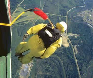 A poorly packed parachute could tangle in its own ropes and send the smokejumper crashing to the ground.