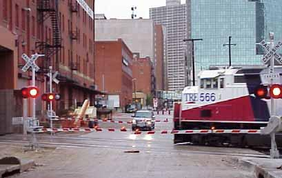 closure  on 7 th Street