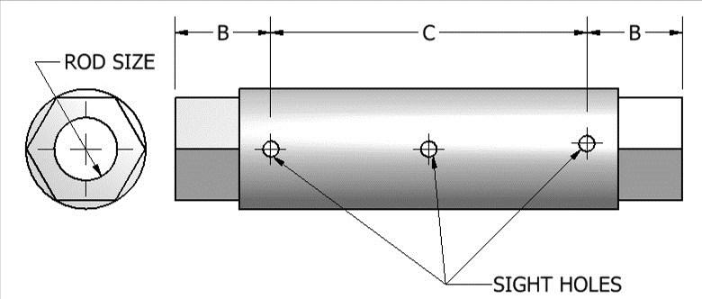 Page 17 713-849-3366 www.aaatech.com info@aaatech.com FIG. 430 FABRICATED TURNBUCKLE APPLICATION: Fig.