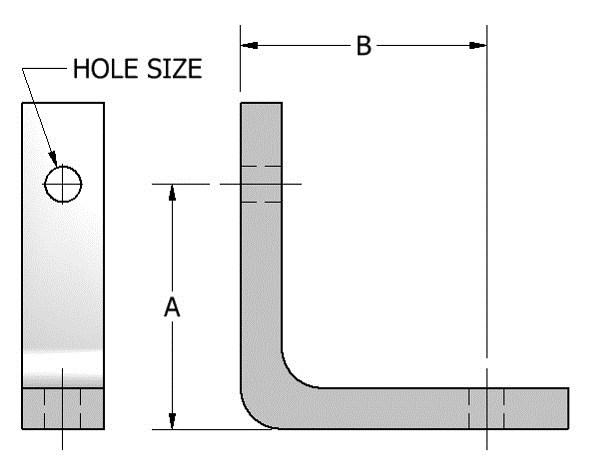 Page 29 713-849-3366 www.aaatech.com info@aaatech.com FIG. 503 ANGLE BRACKET APPLICATION: Angle Brackets are used to attach hanger rod to the side of beams, columns or joists, etc.