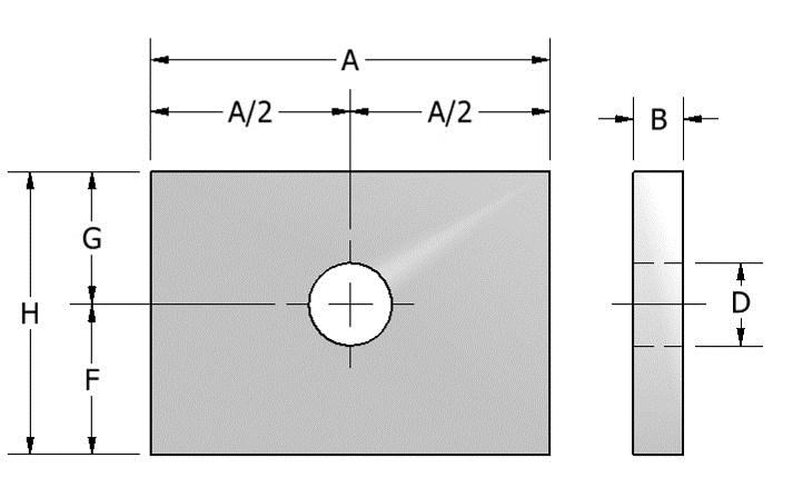 Page 33 713-849-3366 www.aaatech.com info@aaatech.com FIG. 521 STRUCTURAL WELDING LUG, SHORT FIG. 522 STRUCTURAL WELDING LUG, LONG APPLICATION: A Fig.