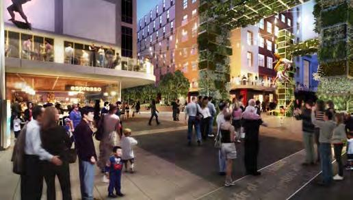 2014 2016 Rundle Mall precinct A city block comprising the longest shopping mall in Australia along