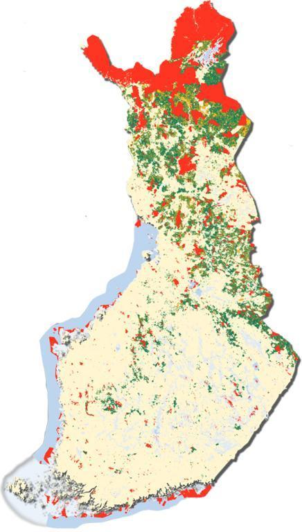 Governance of protected areas in Finland Ministry of the Environment supervision and guidance Metsähallitus Natural Heritage Services manages all stateowned PAs 93% of all PAs Centres
