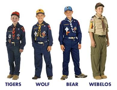 UNIFORMS IN CAMP Scouts should wear their uniform around camp with pride!