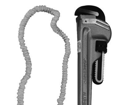 8 Direct Connect Method: (Pic. 7) Tools and equipment with connection points of adequate size and of adequate strength can be connected directly to the lanyard with the supplied locking spring hook.