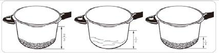 USER MANUAL TRAMONTINA PRESSURE COOKER OPERATING INSTRUCTIONS BEFORE THE FIRST USE Take the time to read all the instructions. Take all accessories out of the cooker pot.