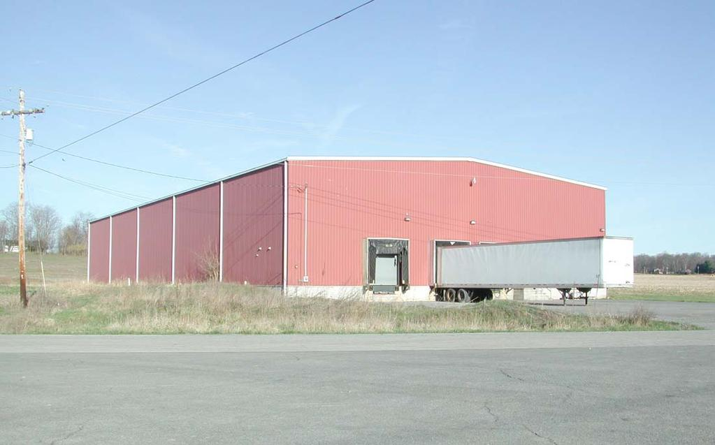 AVAILABLE SPACE COLD STORAGE BUILDING NO.