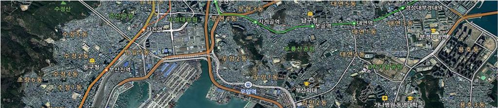 Busan Redevelopment Project Redevelopment Target Area Size
