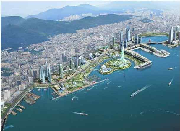 Busan Port in Northeast Asia Busan Port is not the port of Korea but