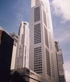 50 psf Prime Raffles Place location Major landmark building Good views of Singapore River High