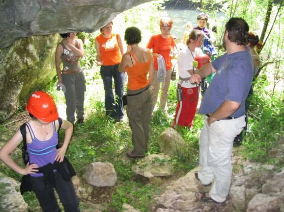CONSERVATION ACTIVITIES in October 2005, the Croatian Biospeleological Society together with the Speleological Committee of the Croatian Mountaineering Association (http://public.carnet.