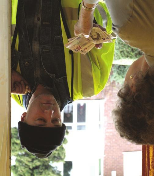 bogus callers to rogue traders, doorstop criminals are cunning, creative and often very convincing.