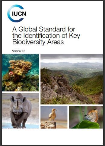Lead the Development of Global Standards Such as the recently-agreed standard on Key Biodiversity Areas
