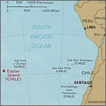 Roughly how many miles is it from Santiago to Puerto Montt: 50 miles, 500