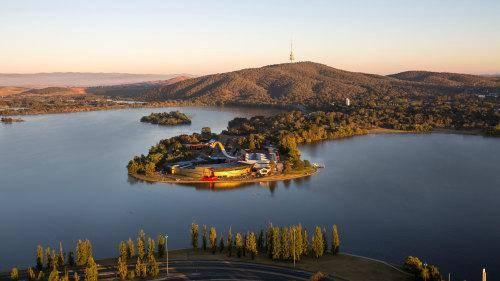 Mount Ainslie, View Walter Burley griffin s vision for the city with an extensive across from the top of Mount Ainslie.