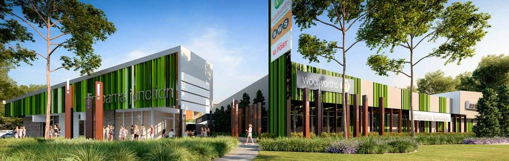 PROJECT DESCRIPTION Woolworths Supermarket 2,700 m 2 (GROWING TO 3,200 m 2 ) Specialty Stores 2,250 m 2 Total 5,450 m 2 WHEN COMPLETED Pimpama Junction SHOPPING VILLAGE is anticipated to comprise: