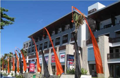 The first strata hotel in Kuta-Bali Managed by Accor
