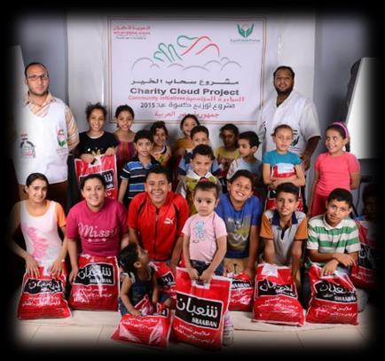 Charity Cloud Program Air Arabia s initiative for sustainable development started in 2005