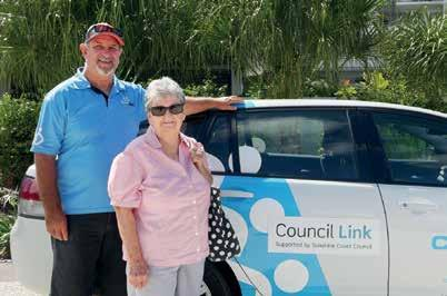 The Council Link program has been a huge success for the Sunshine Coast and for the Transport Levy.