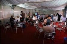 VMY CAMPAIGN MEDIA HOSPITALITY CENTRE Media centres were conveniently set up for all major events.
