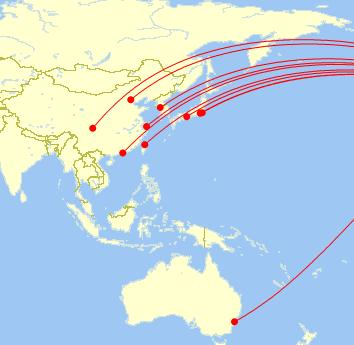San Francisco is United s primary gateway hub to Asia United provides non-stop service from San Francisco to 10 airports in 9 cities in the Asia / Pacific region Airport City, Country CTU Chengdu,