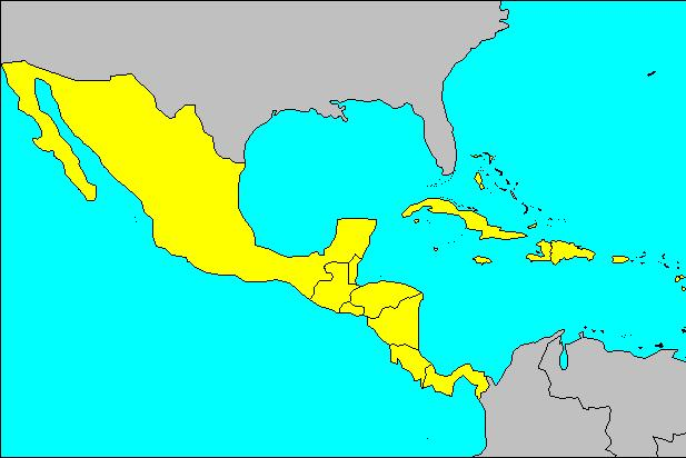 Latin America is divided into 2 A.