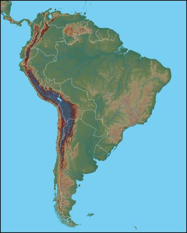 Physical Geography Mountains The Andes: 4500 miles long