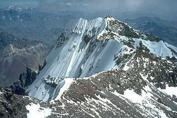 Andes Mount Aconcagua is the highest peak in the range.