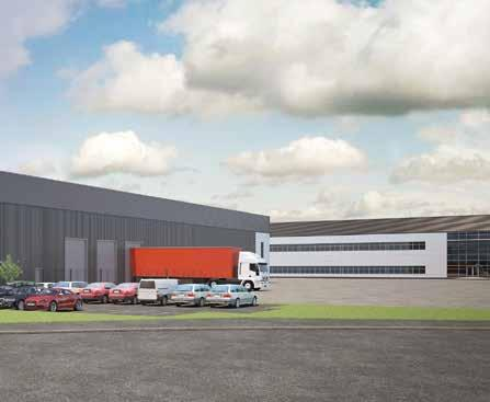 ft 464 sq m 23 dock level doors Total 105,000 sq ft 9,754 sq m 47 trailer parking spaces 515 EAST 52 (UNDER CONSTRUCTION) Warehouse 50,000 sq ft 4,645 sq m Office (first floor) 2,500 sq ft 232 sq m