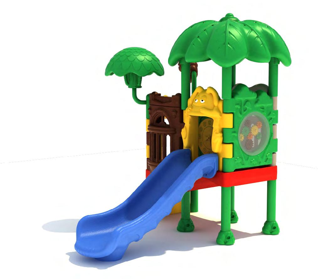 Early Childhood Jungle Tree Center 1 MODEL NUMBER: 543S201PR