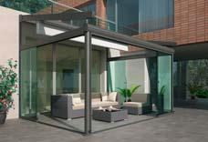 The parallel all-glass elements are easy to use and take up little space on the inside when folded away. w17-c easy-glide all glass sliding door Recommendation Features Max. width Max.