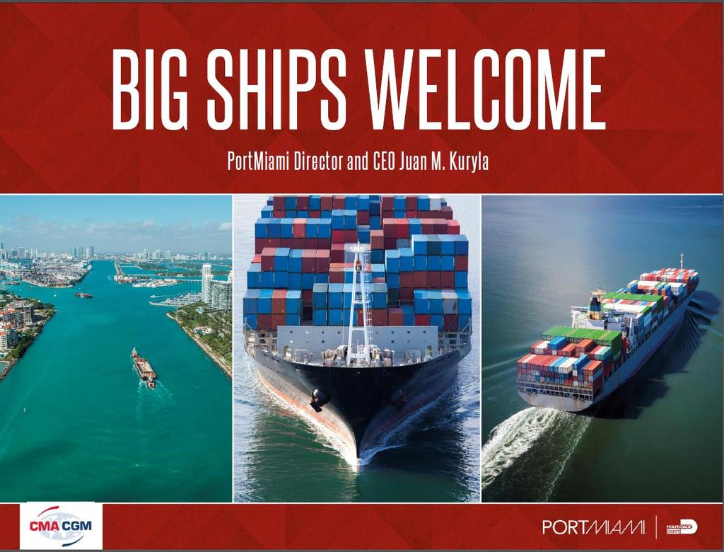 Business Presentations The Big Ships Welcome campaign was also