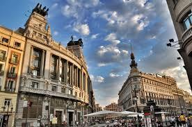 Madrid is the capital and largest city of Spain. The city is located on the river Manzanares in the centre of both the country and the Community of Madrid.
